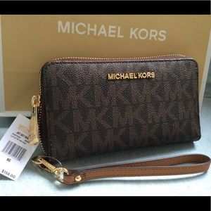 New wallet case iPhone 8 Mk Michael kors large